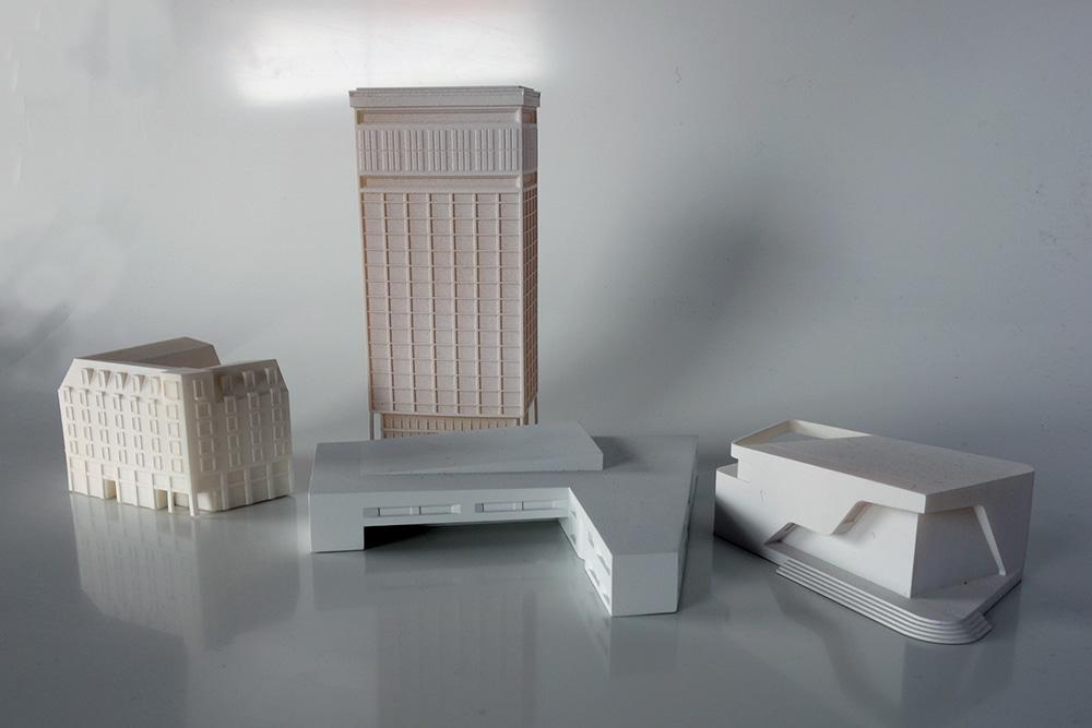 Verschiedene 3D-Druck-Modell